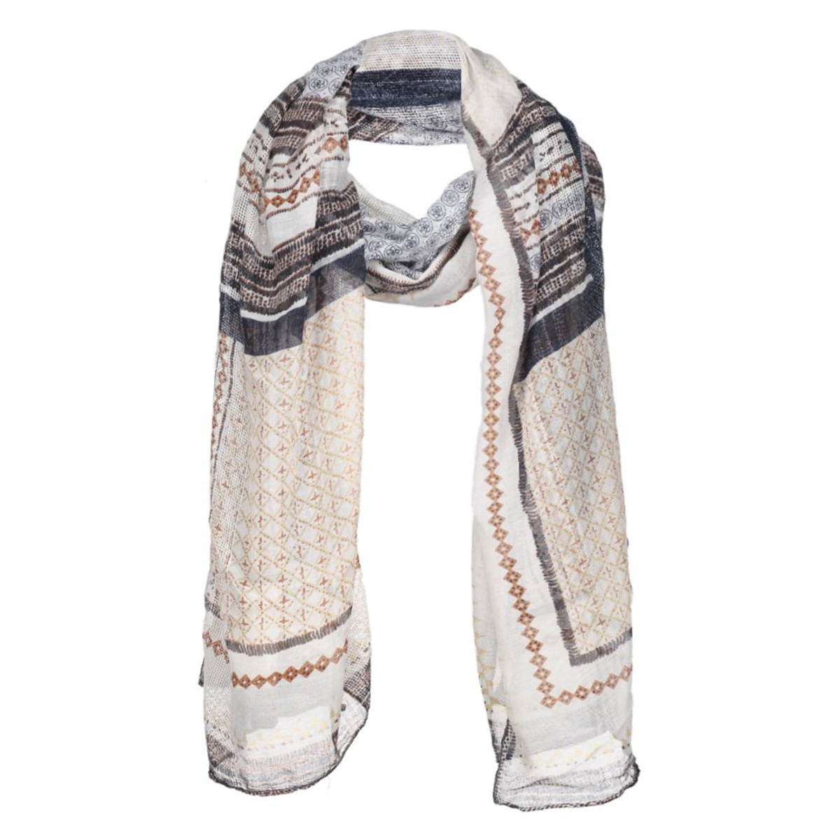 pcpiviana long scarf 17077080 pieces sjaal papyrus