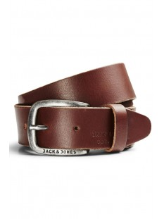 Jack & Jones Riem JJIPAUL JJLEATHER BELT NOOS 12111286 Black Coffee