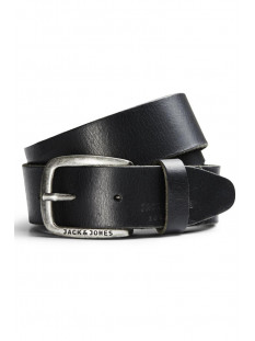 Jack & Jones Riem JJIPAUL JJLEATHER BELT NOOS 12111286 Black