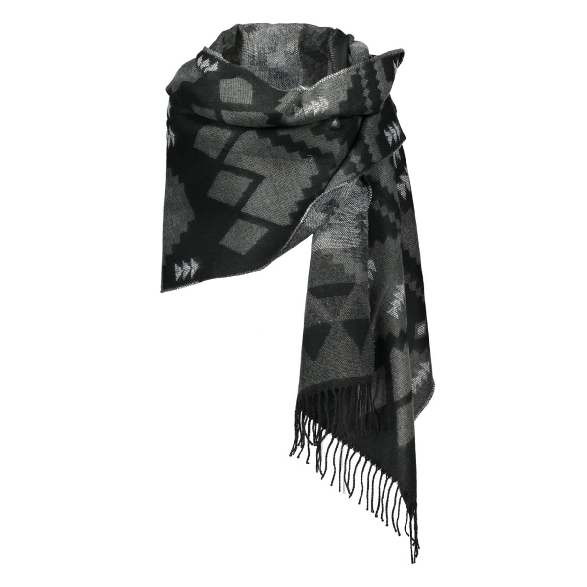vmvilla long scarf noos 10160062 vero moda sjaal black