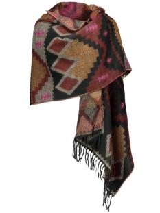 vmvilla long scarf noos 10160062 vero moda sjaal adobe