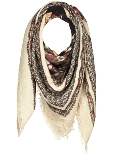 pcpilar square scarf 17075946 pieces sjaal feather gray