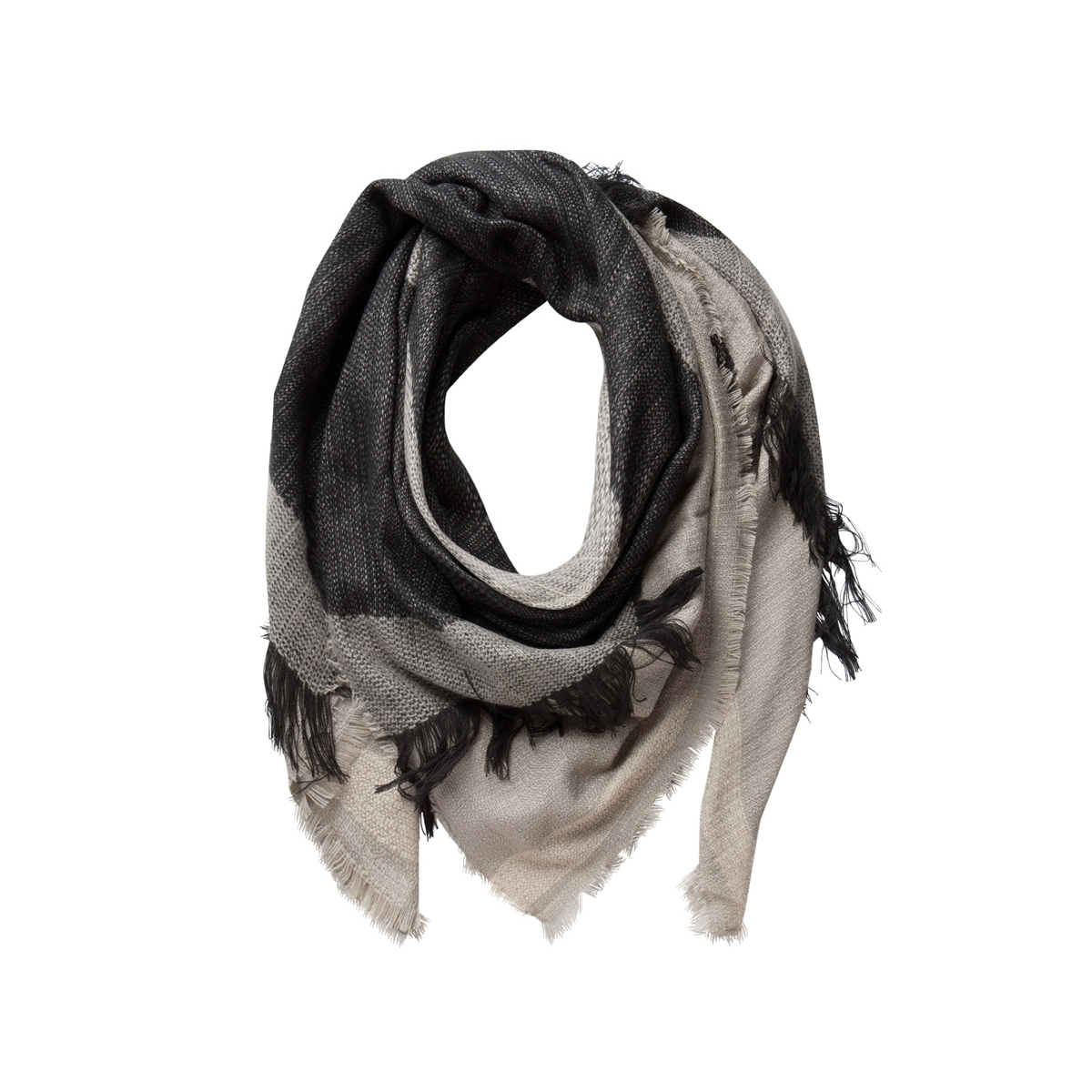 pcpenelope square scarf 17075902 pieces sjaal elephant skin