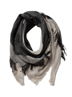 Pieces Sjaals PCPENELOPE SQUARE SCARF 17075902 Elephant Skin