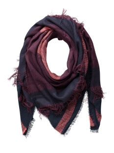 Pieces Sjaals PCPENELOPE SQUARE SCARF 17075902 Navy Blazer