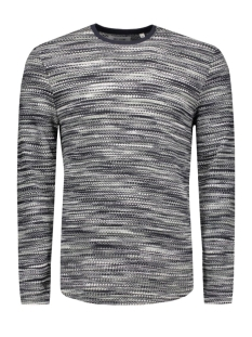 onsfly crew neck 22004515 only & sons trui dress blues/melange
