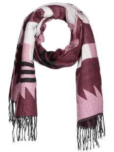 Only Sjaal onlSHEENA WEAVED SCARF AC NOOS 15121746 Windsor Wine