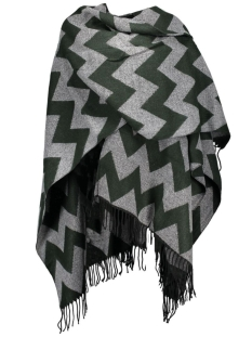 onlADETTE WEAVED PONCHO ACC 15121737 scarab