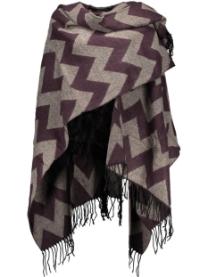 Only Poncho onlADETTE WEAVED PONCHO ACC 15121737 Fudge