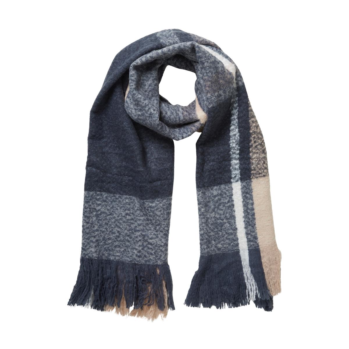 vmkarna long scarf noos 10135828 vero moda sjaal ombre blue
