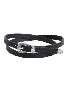 PCPALOSA SLIM JEANS BELT 17076538 Black