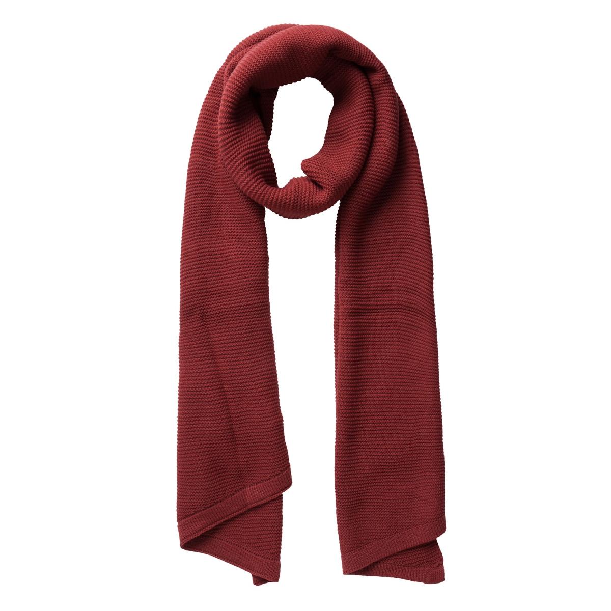 billi scarf noos 17050026 pieces sjaal brick red