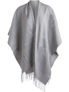 PCRAELYN CAPE NOOS 17066912 Light Grey Melange