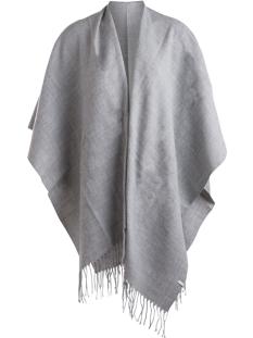 pcraelyn cape noos 17066912 pieces accessoire light grey melange
