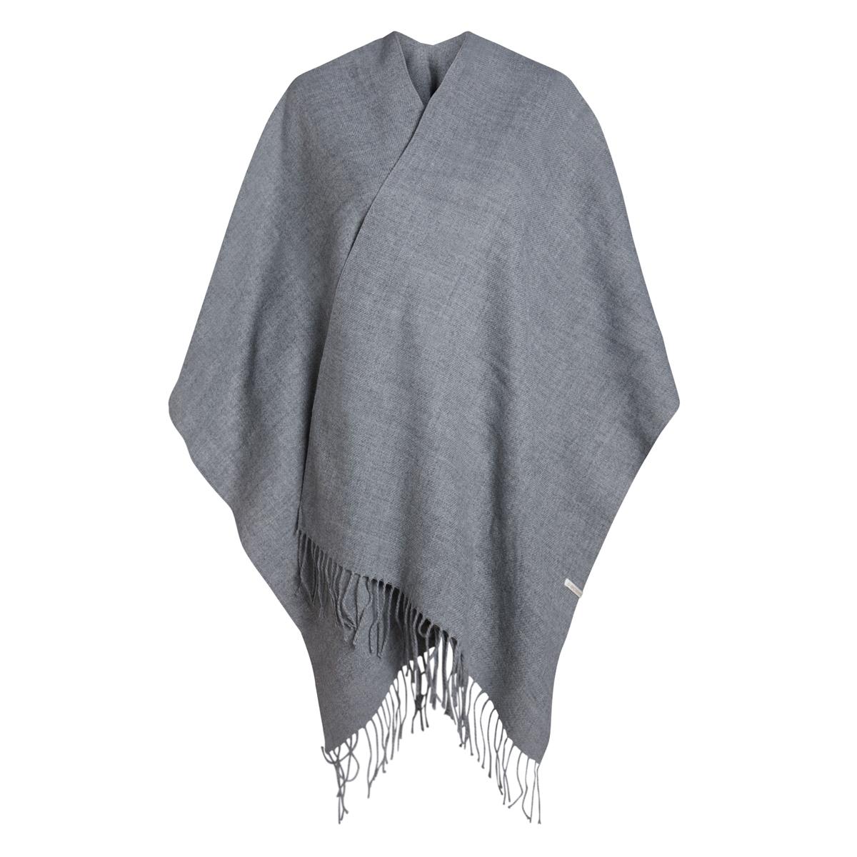 pcraelyn cape noos 17066912 pieces accessoire dark grey melange