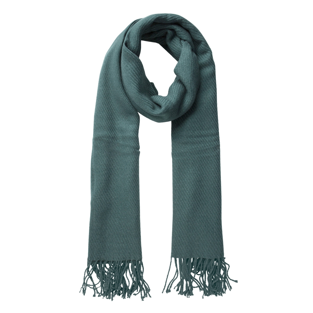 kial long scarf noos 17057386 pieces sjaal balsam green