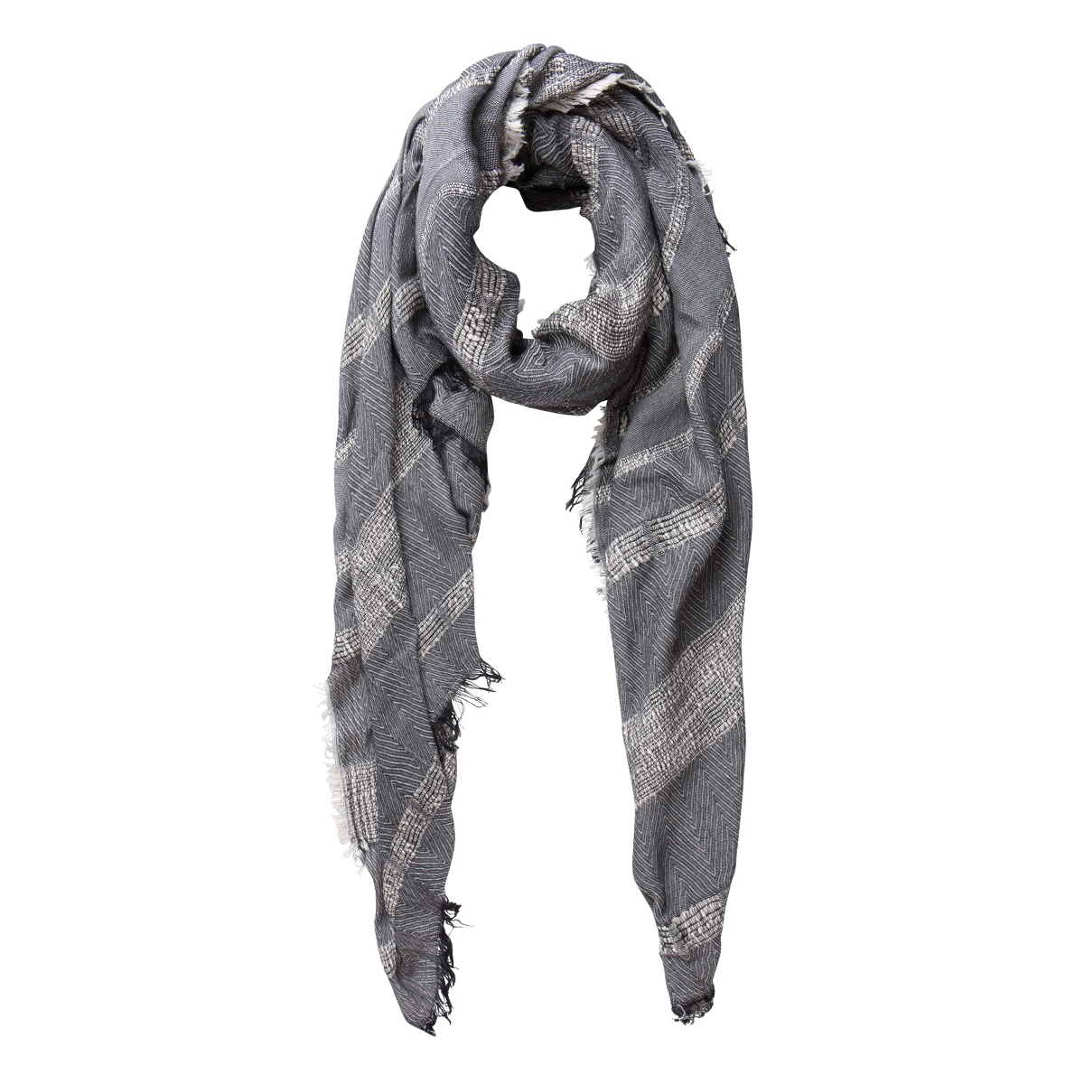 pcdanna long scarf 17077945 pieces sjaal black