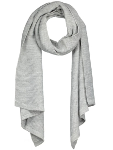 Only Sjaal onlOMEGA KNIT SCARF ACC NOOS 15121865 Light Grey Melange