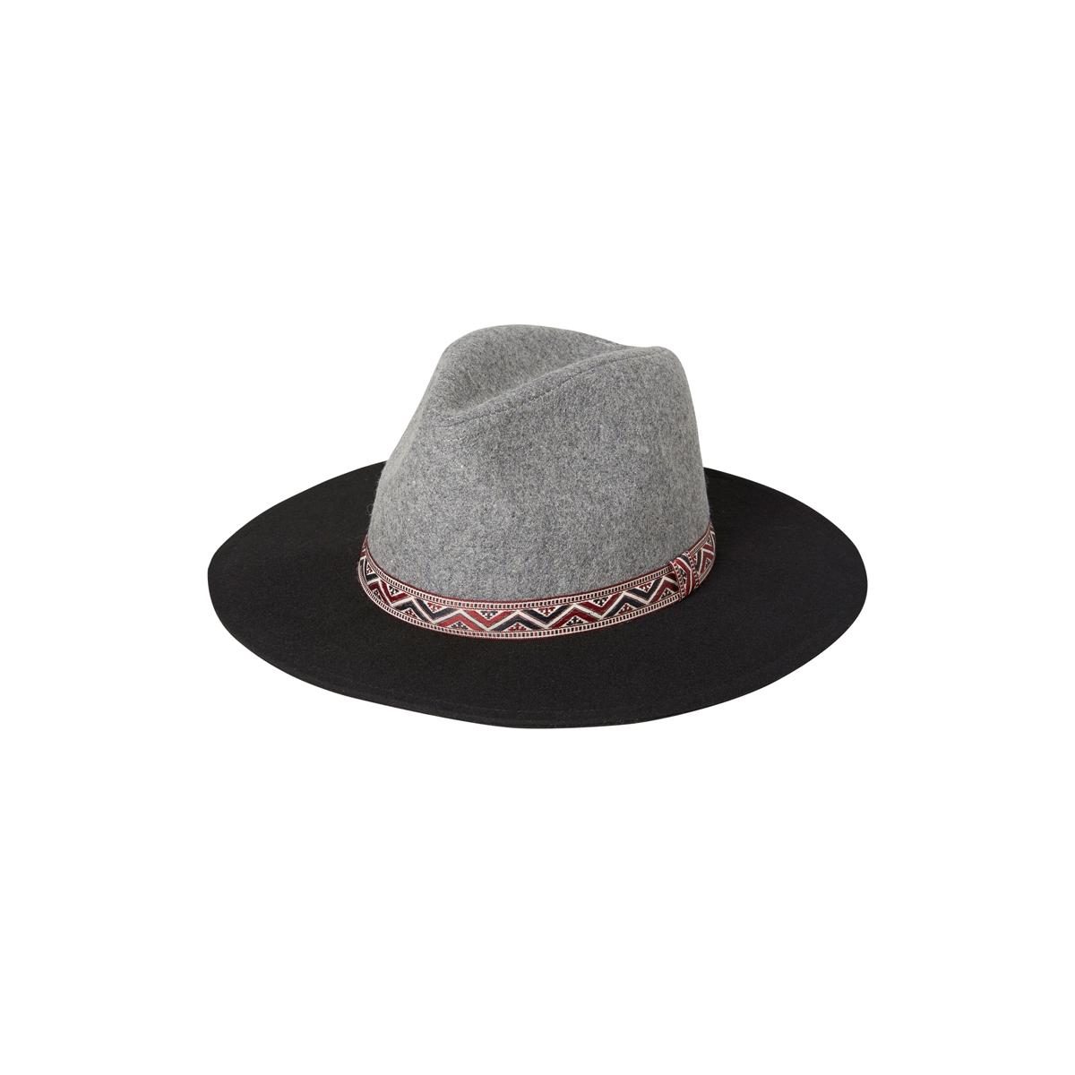 vmbine wool hat 10159659 vero moda hoed black