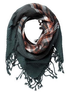 Pieces Sjaal PCPAULA SQUARE SCARF 17075900 Balsam Green