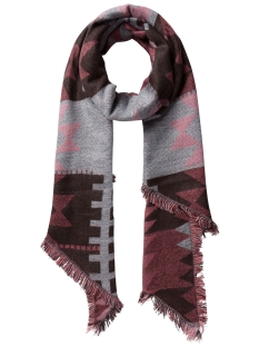 PCPATIENCE LONG SCARF 17075888 Coffee Bean