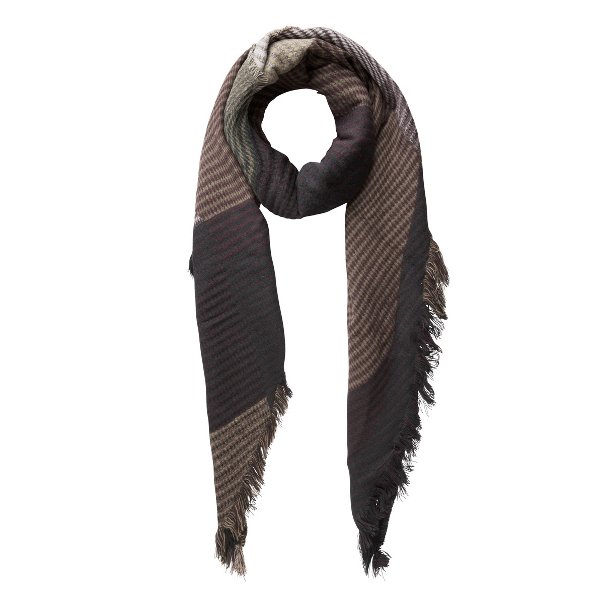 pcdamilla long scarf 17078750 pieces sjaal black