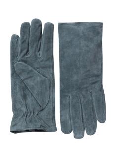 pccomet suede gloves 17067088 pieces accessoire dark shadow