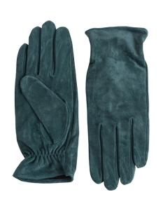 pccomet suede gloves 17067088 pieces accessoire balsam green