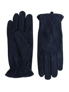 pccomet suede gloves 17067088 pieces accessoire navy blazer