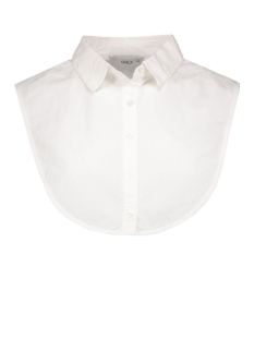Only Accessoire onlSHELLY WEAVED COLLAR ACC 15132925 Bright White