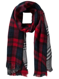 Pieces Sjaal PCDILISSA LONG SCARF 17078811 High Risk Red