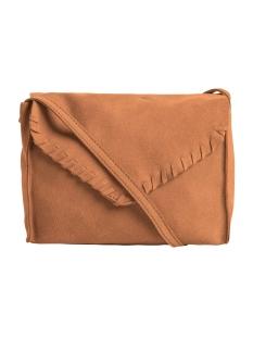 PCVALITY SUEDE CROSS OVER BAG 17077770 cognac