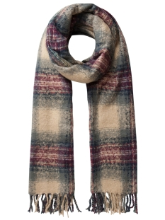 Pieces Sjaal PCPEDJA LONG SCARF 17077191 Tan
