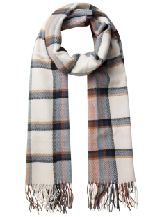 PCPUKITTA LONG SCARF 17075973 Whitecap Gray