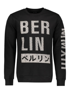 onsNEW LUCITY CREW NECK EXP 22006245 Black/Berlin