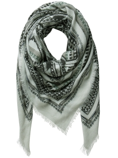 Pieces Sjaal PCFILAR SQUARE SCARF 17078338 Balsam Green