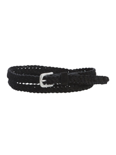 PCHEA SUEDE BELT 17081193 Black