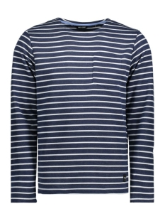 onsPALLY LS FITTED CREW NECK NOOS 22005892 Dress Blues