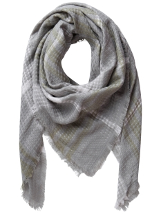 Pieces Sjaal PCLOUISE SQUARE SCARF 17079571 Elephant Skin