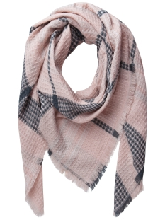 PCLOUISE SQUARE SCARF 17079571 Cameo Rose