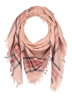 Pieces Sjaal PCLARINA SQUARE SCARF 17079406 Cameo Rose