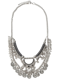 Pieces Sieraad PCMIA NECKLACE 17080757 Silver Colour