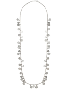 Pieces Sieraad PCMIA LONG NECKLACE 17080755 Silver Colour
