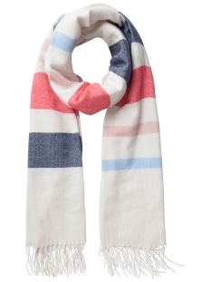 PCLUSY LONG SCARF 17079441 Whitecap Gray