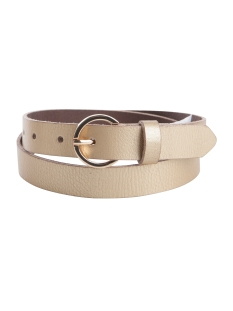 Pieces Riem PCMEGAN LEATHER JEANS BELT 17081195 Gold Colour