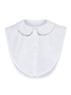 Only Accessoire onlSHELLY FRILL  WEAVED COLLAR ACC 15142940 Bright White