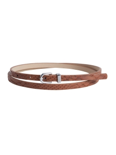 Pieces Riem PCLINN SLIM JEANS BELT 17079753 Cognac