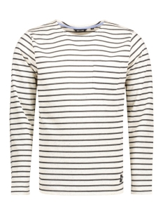 onsPALLY LS FITTED CREW NECK NOOS White
