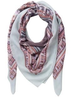 Pieces Sjaal PCDEOMA SQUARE SCARF 17078372 SKY GRAY