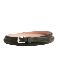 Pieces Riem PCLISSA LEATHER JEANS BELT 17079762 Deep Linchen Green